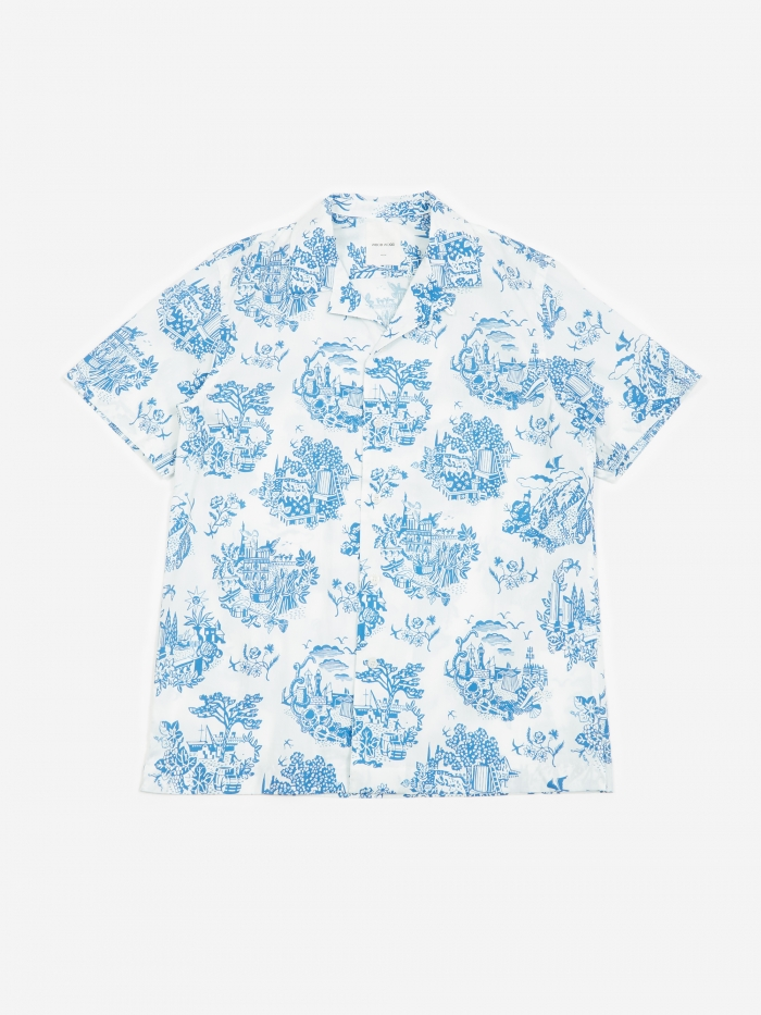 Wood Wood Brandon Shirt - Tourist Off White (Image 1)