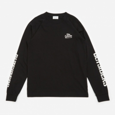 Wood Wood Han Longsleeve T-Shirt - Black