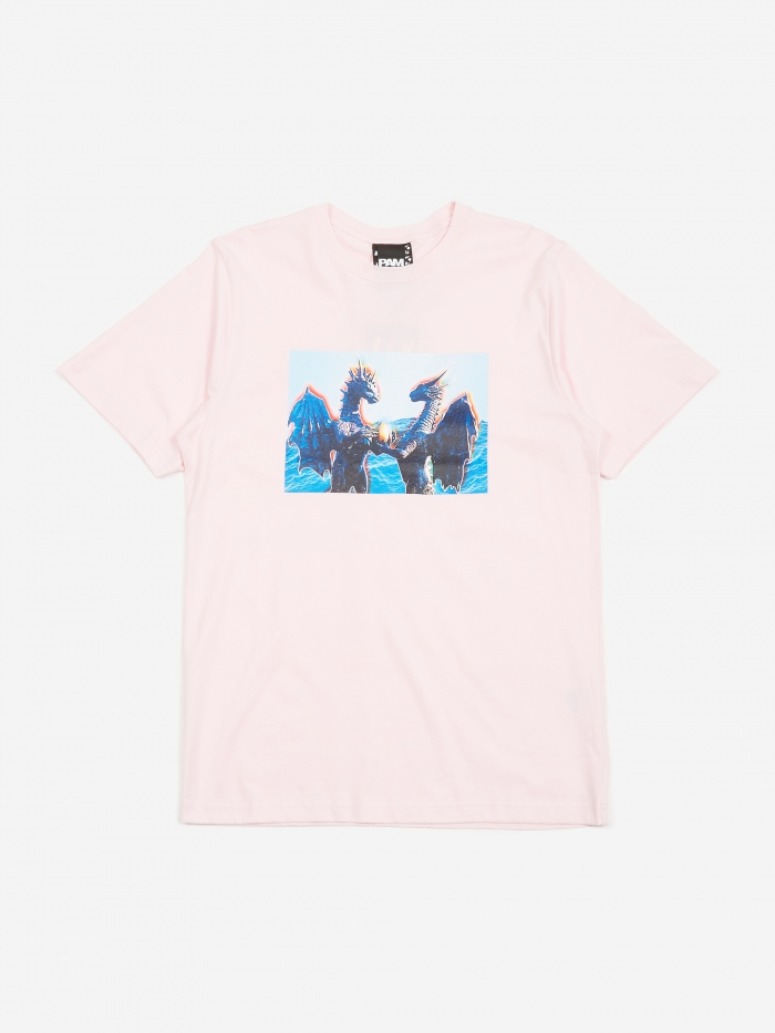 Perks & Mini PAM Perks And Mini Lemuria Is A Place T-Shirt - Pale Pink (Image 1)