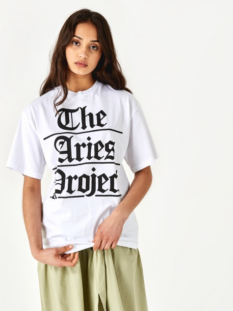 Project T-Shirt - White/Black