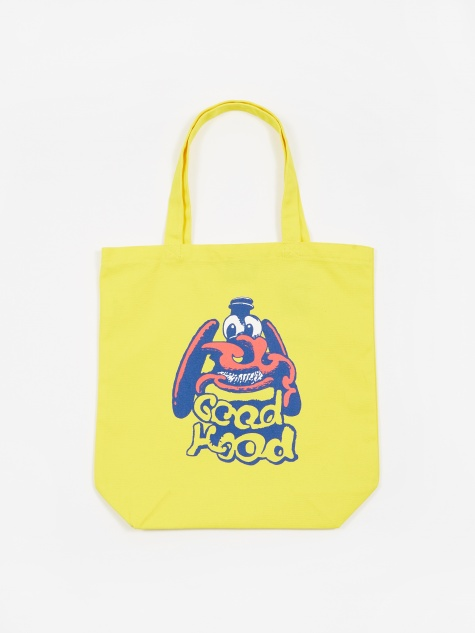 x Face & Shinknownsuke Tote Bag - Yellow