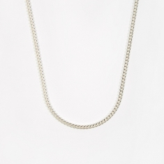 Goods by Goodhood Curb Chain / Silver / 3.5mm Gauge / 60cm