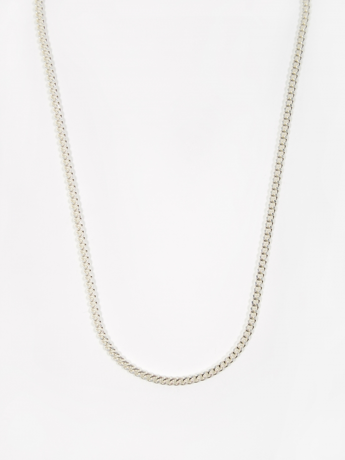 Goods By Goodhood Curb Chain / Silver / 3.5mm Gauge / 60cm (Image 1)
