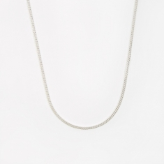 Goods by Goodhood Curb Chain / Silver / 2.1mm Gauge / 60cm