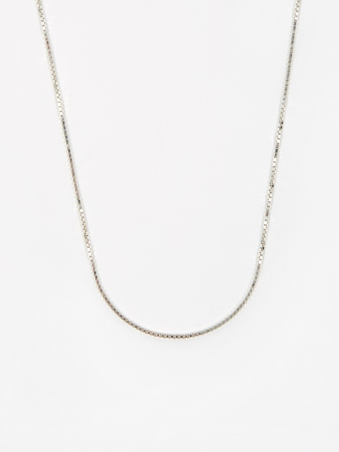 Venetian Chain / Silver / 1.5mm Gauge / 50cm
