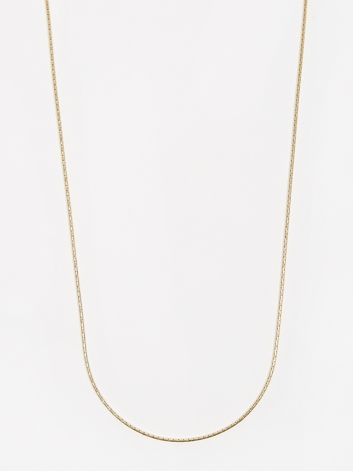 Goods By Goodhood Anaconda Chain / Gold / 1.1mm Gauge / 70cm (Image 1)