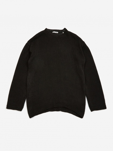 Popover Sweater - Black