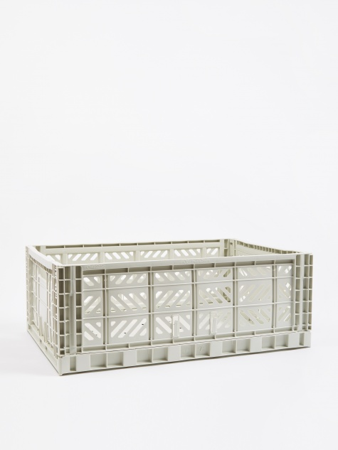 Colour Crate Large - Light Grey