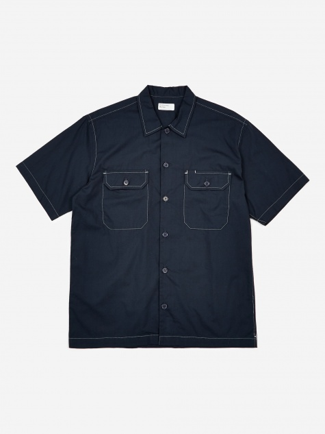 Utility Shortlseeve Shirt - Navy