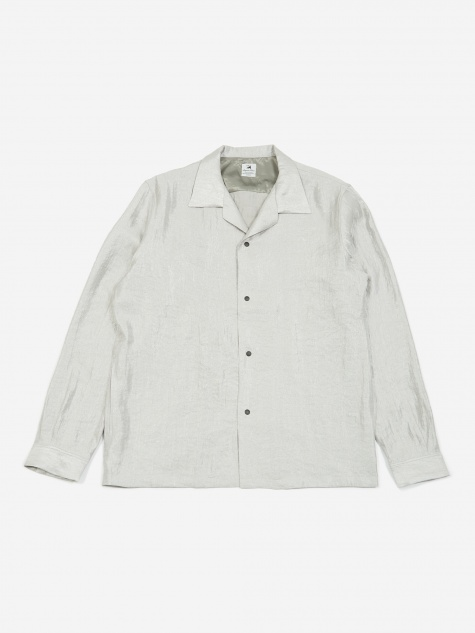 Open Collar Shirt - Silver
