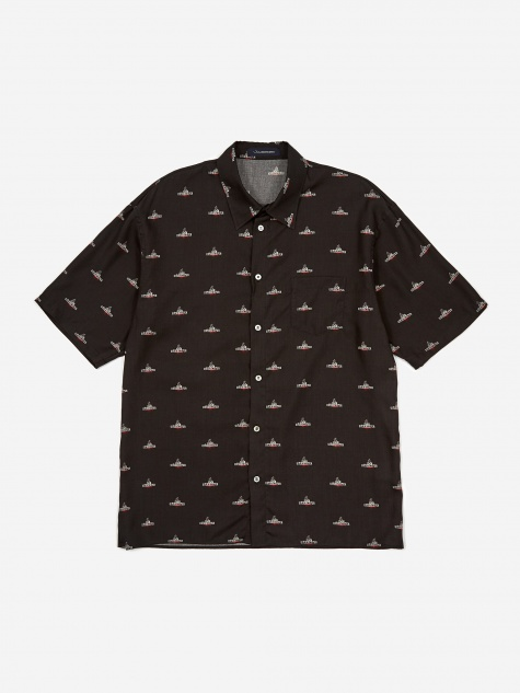 JohnUNDERCOVER Short Sleeve Shirt - Black