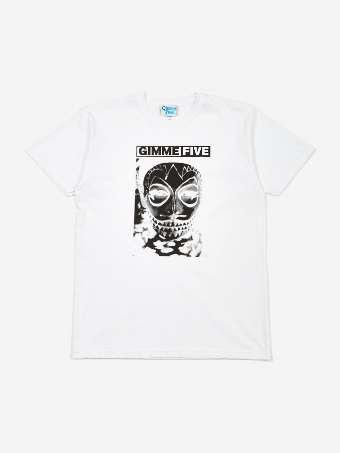 Gimme 5 Mask T-Shirt - White (Image 1)
