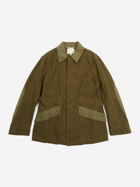 Military Field Jacket - Olive Green