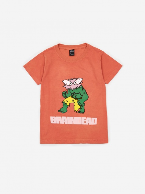 Spazz Kids T-Shirt - Terracotta