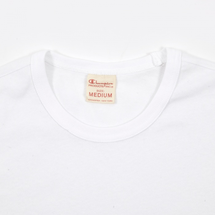 Champion Reverse Weave Crew Neck T-Shirt - White (Image 1)