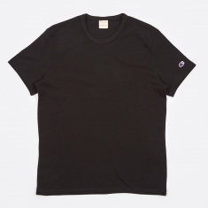 Champion Reverse Weave Crew Neck T-Shirt - Black