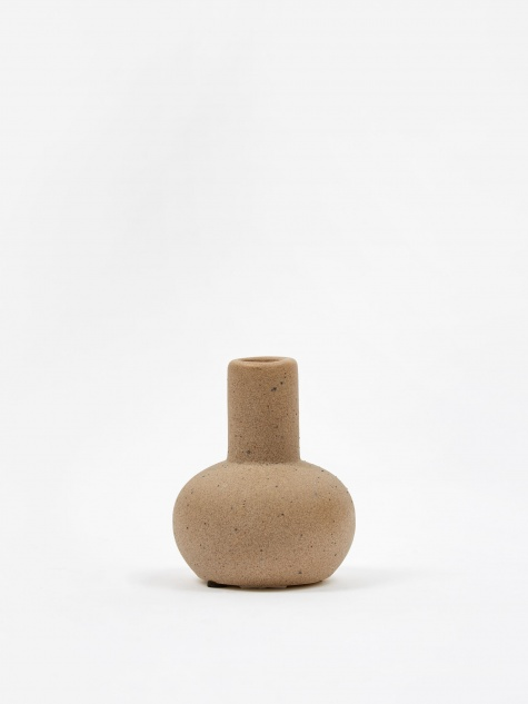 Mini Bobbles Vase - Light Grey/Sand