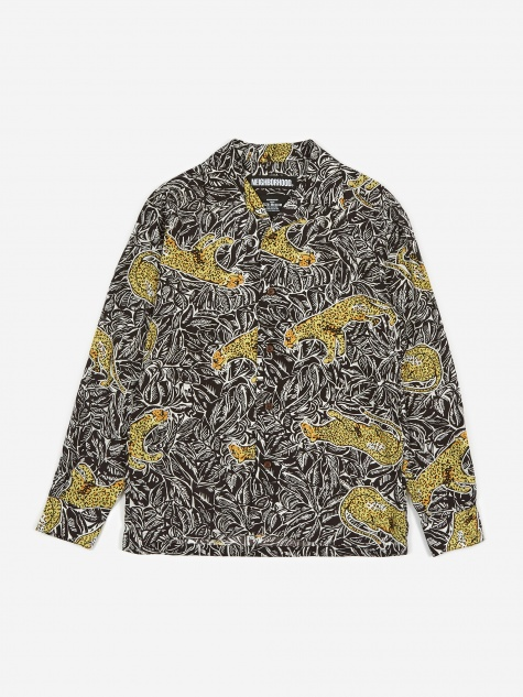 Longsleeve Aloha Panther / LY-Shirt - Black
