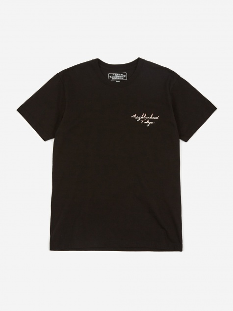 Emb - 2 C-Crew T-shirt - Black