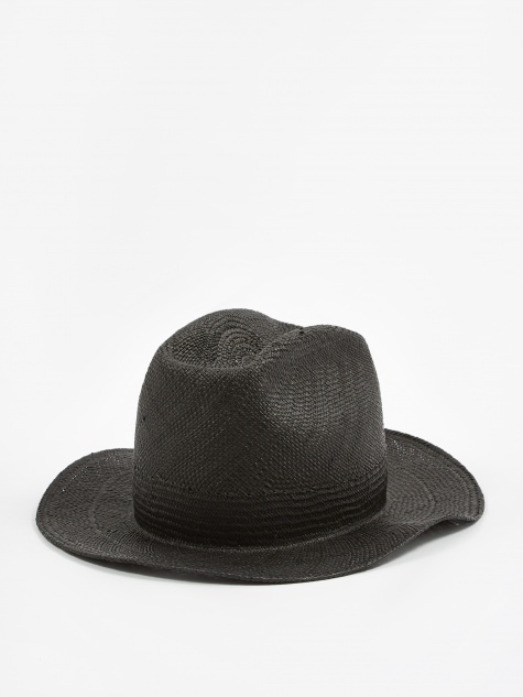 Panama Hat / N-Hat - Black