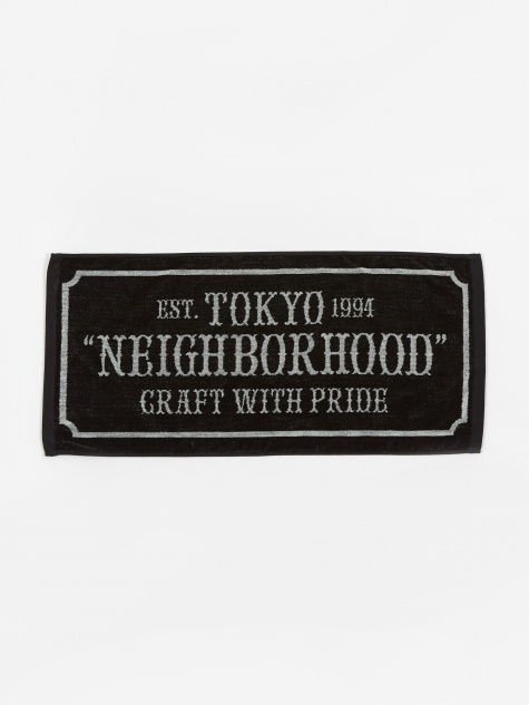 Bar & Sheild-s / C-Towel - Black