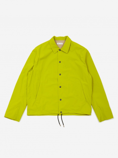 Spencer Shell Coach Jacket - Lime