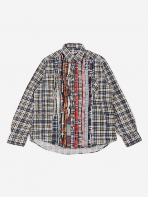 Rebuild Flannel Ribbon Shirt Size Small 1 - Assorted