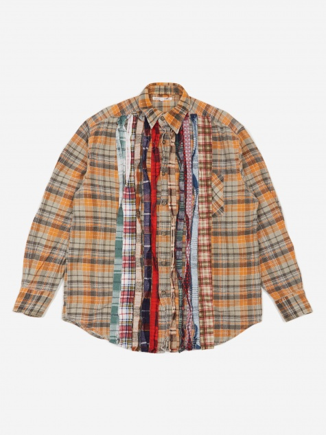 Rebuild Flannel Ribbon Shirt Size Medium 2 - Assorted