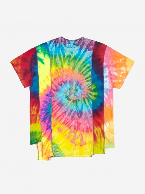 Rebuild 5 Cuts Tie-Dye T-Shirt Size Small 1 - Assorted