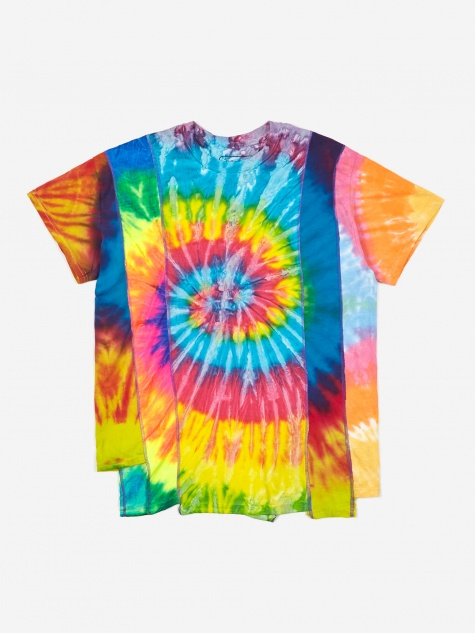 Rebuild 5 Cuts Tie-Dye T-Shirt Size Small 2- Assorted