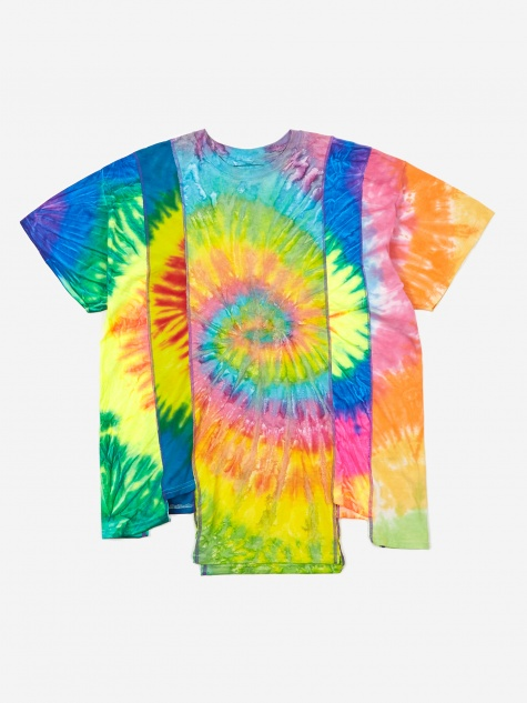 Rebuild 5 Cuts Tie-Dye T-Shirt Size Large 1 - Assorted