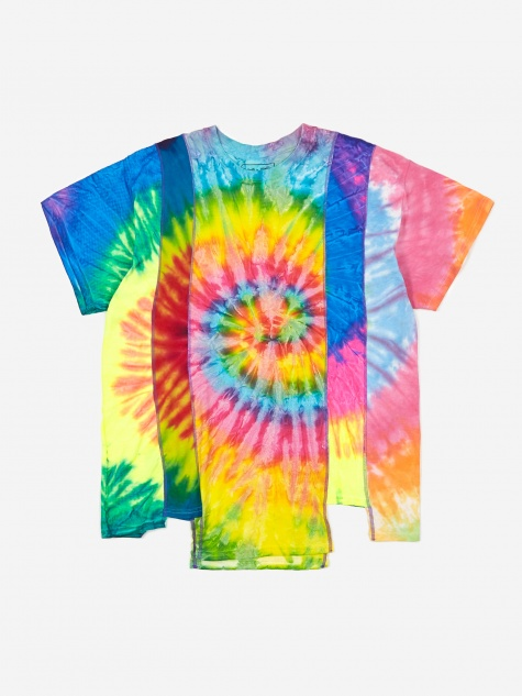Rebuild 5 Cuts Tie-Dye T-Shirt Size Large 2 - Assorted