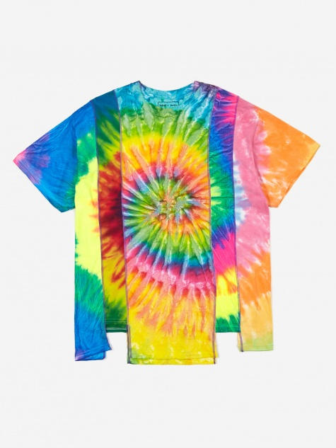Rebuild 5 Cuts Tie-Dye T-Shirt Size Large 5 - Assorted