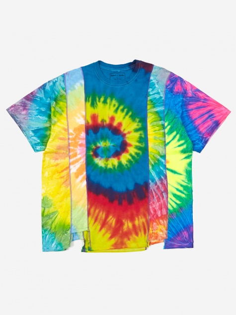 Rebuild 5 Cuts Tie-Dye T-Shirt Size X-Large 3 - Assorted