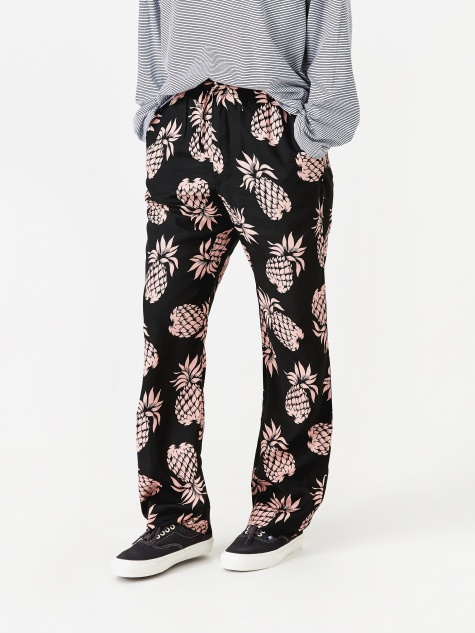 String Cowboy Pineapple Pant - Black