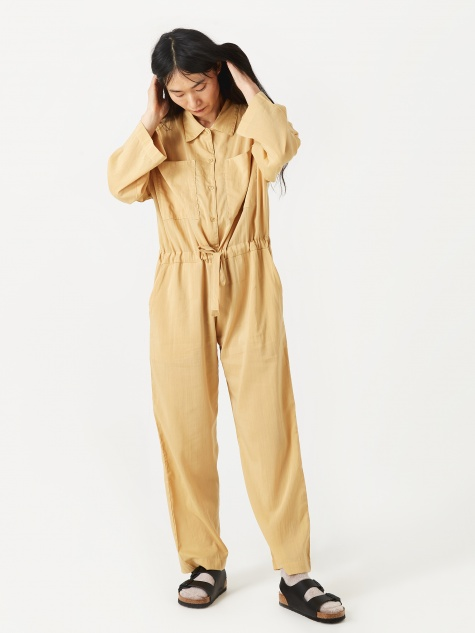 Emily Jumpsuit - Curry
