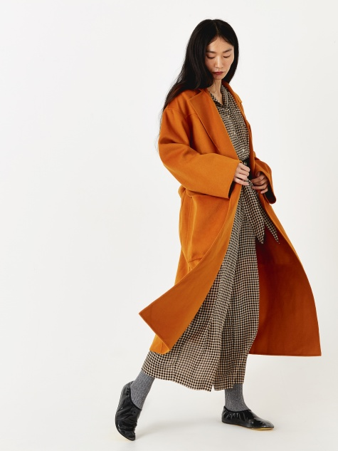 Alamo Coat - Dusty Orange