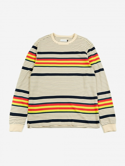 Multiculti Striped Longsleeve T-Shirt - Mult