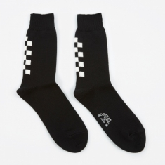 Rostersox Navin Socks - Black/White