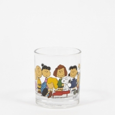 Peanuts Glass Cup - Gang