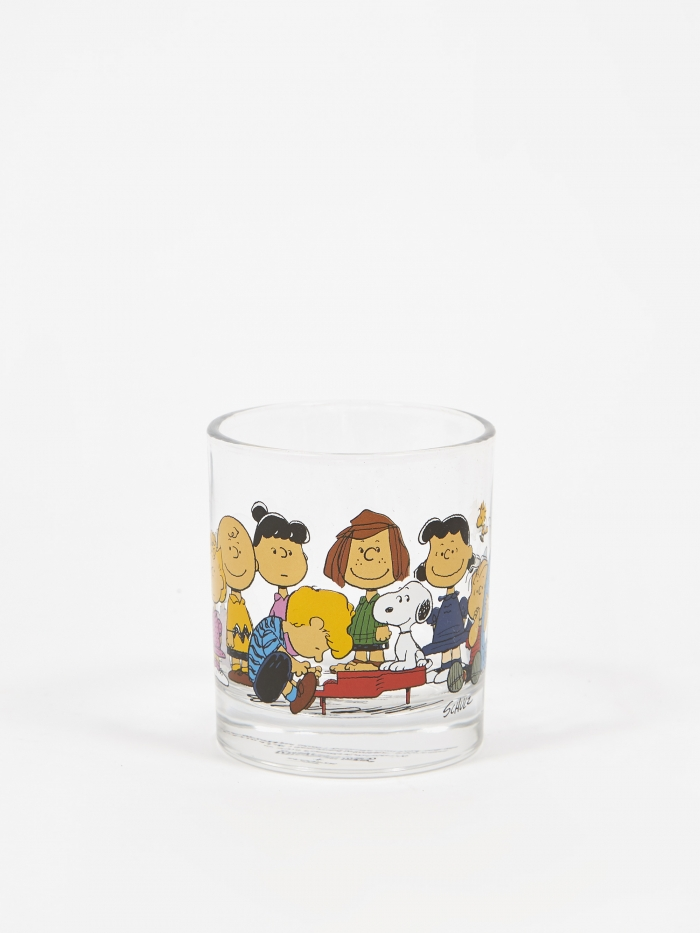 Peanuts Glass Cup - Gang (Image 1)