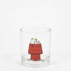 Peanuts Glass Cup - House
