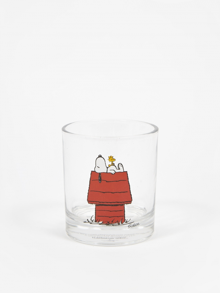 Peanuts Glass Cup - House (Image 1)