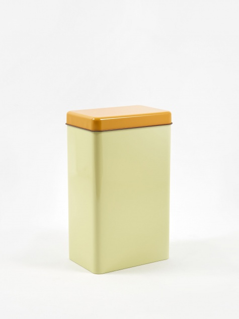 Storage Tin By Sowden - Yellow