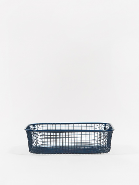 Trinkets Square Tray - Dark Blue