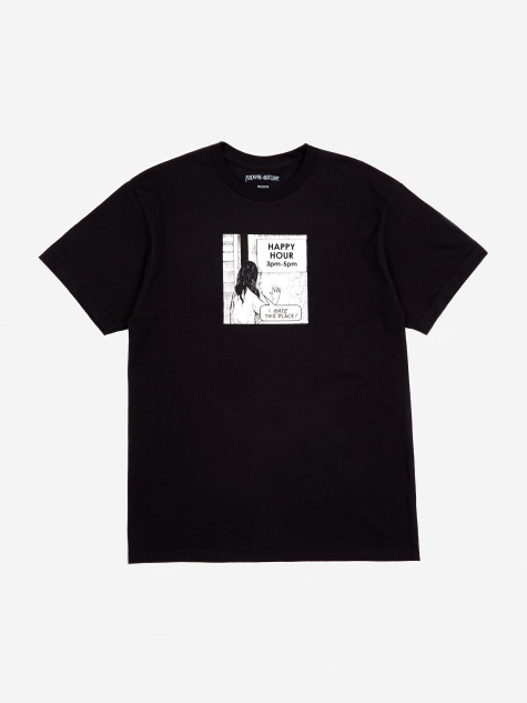 Happy Hour T-Shirt - Black