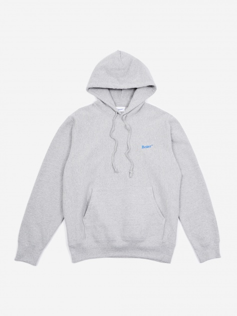 TM Classic Logo Hooded Sweatshirt - Heather Grey