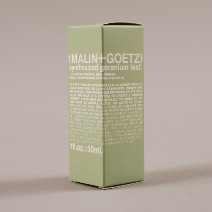 Malin + Goetz Malin & Goetz Eau De Toilette - Synthesized Geranium Leaf