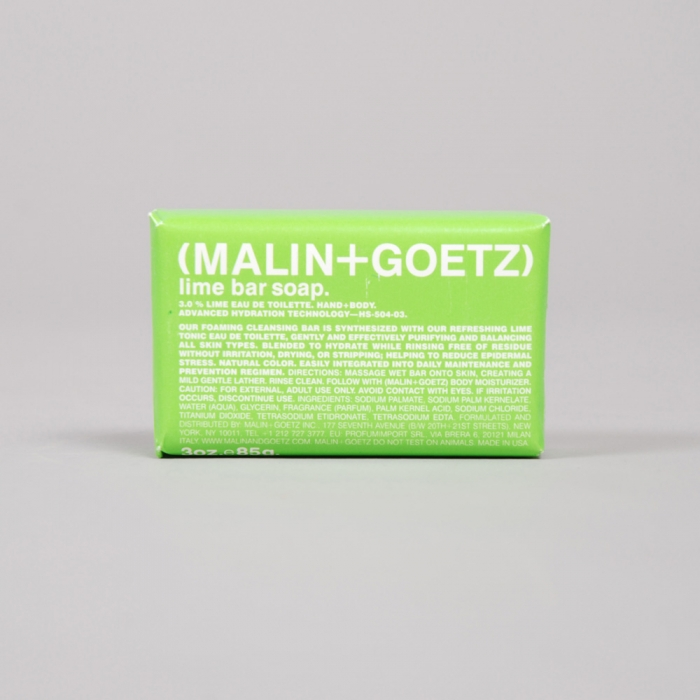 Malin + Goetz Malin & Goetz Bar Soap - Lime (Image 1)