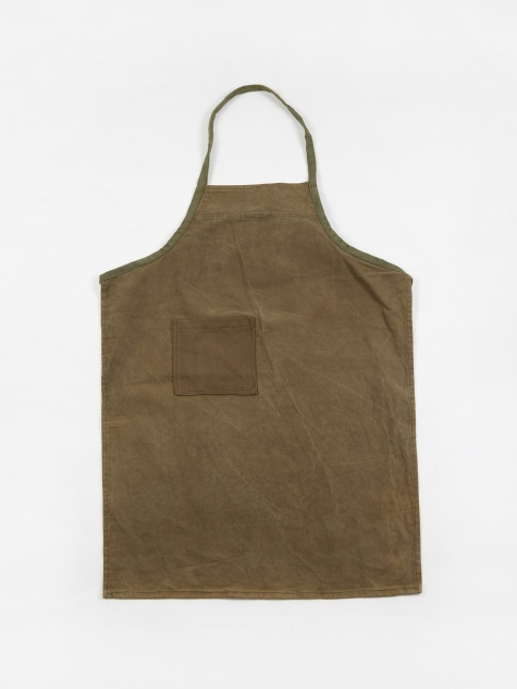 Old Tent Mat Fabric Apron